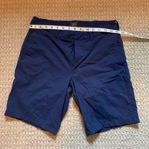 Navy 30x8 J Crew Tech Shorts